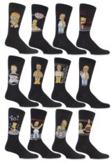 Mens 3 Pairs TM The Simpsons Socks