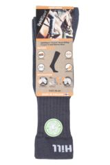 "Mens and Ladies 1 Pair UpHill Sport ""Course"" Riding 3 Layer L2 Socks Packaging Image"