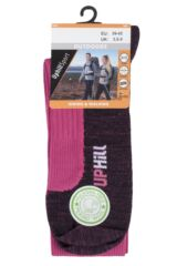 UpHill Sport 1 Pair Made in Finland 2 Layer Running Socks Packaging Image