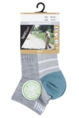 UpHill Sport 1 Pair 3 Layer Low Cut Golf Trainer Socks Packaging Image