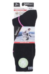 "Mens and Ladies 1 Pair UpHill Sport ""Suomu"" Mountain 4 Layer H5 Socks Packaging Image"