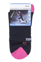"Mens and Ladies 1 Pair UpHill Sport ""Trail"" Running L1 Socks Packaging Image"