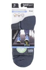 "Mens and Ladies 1 Pair UpHillSport  ""Frost Trail"" Running L3 Socks Packaging Image"