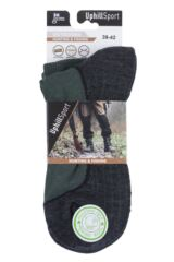 "Mens and Ladies 1 Pair UpHillSport  ""Aarea"" Hunting 4 Layer H4 Socks Packaging Image"