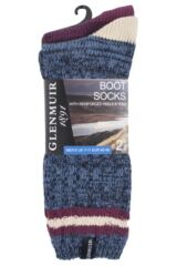 Mens 2 Pair Glenmuir Marl Mix Boot Socks Product Shot