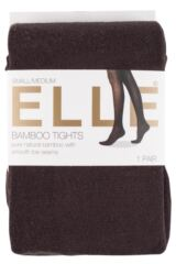 Ladies 1 Pair Elle Plain Bamboo Tights - Sale Packaging Image