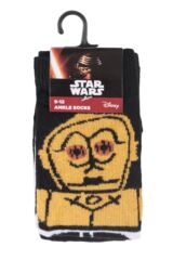 Kids 2 Pair SockShop Star Wars R2-D2 and C-3PO Socks Packaging Image