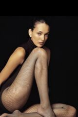 Ladies 1 Pair Levante Fishnet Tights Leading Image