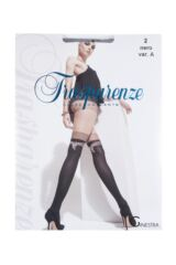 Ladies 1 Pair Trasparenze Ginestra Mock Hold Up Tights with Panty Product Shot