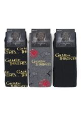 SOCKSHOP 3 Pair Game of Thrones Logo Cotton Socks Packaging Image