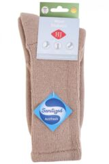 Ladies 1 Pair HJ Hall Wool Diabetic Socks Packaging Image