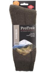 Mens and Ladies 1 Pair HJ Hall ProTrek Rambler Wool Walking Socks Packaging Image