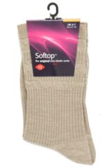 Ladies 1 Pair HJ Hall Original Wool Softop Socks Packaging Image