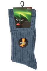 Mens 1 Pair HJ Hall Thermal Wool Softop Socks Packaging Image
