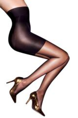 Ladies 1 Pair Aristoc 10 Denier Hourglass Toner Tights Leading Image