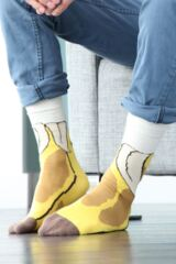 Mens 1 Pair SockShop Dare to Wear - Big Banana