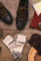 Mens 3 Pair Jeep Luxury Terrain Socks Leading Image