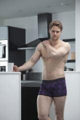 Mens 1 Pack Pringle Flower Patterned Hipster Boxer Shorts 33% OFF ILOVESOCKSHOP