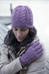 Ladies 1 Pair Heat Holders 3.2 Tog Heatweaver Yarn Gloves Leading Image