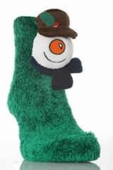 Kids 1 Pair SockShop Toy Box Socks Feather Snowman Sock