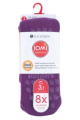 Ladies 1 Pair Iomi Heat Holders Raynaud's Socks Packaging Image