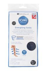 Mens 2 Pair Iomi Footnurse Energising Compression Socks Packaging Image