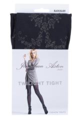 Ladies 1 Pair Jonathan Aston Twilight Floral Front Tights Packaging Image