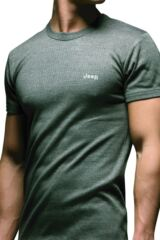 Mens 1 Pack Jeep Short Sleeved Thermal T-Shirt