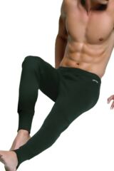 Mens 1 Pair Jeep Thermal Long Johns In 3 Colours Black M