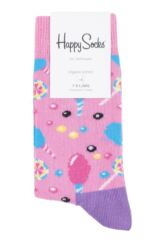 Boys & Girls 1 Pair Happy Socks Cotton Candy Cotton Socks Packaging Image