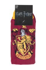 Ladies 4 Pair Harry Potter House Badge Socks Packaging Image