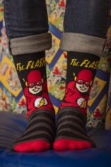 SockShop Justice League Aquaman, Flash, Superman, Batman and Wonder Woman Socks Leading Image
