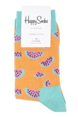Boys & Girls 1 Pair Happy Socks Water Melon Cotton Socks Product Shot