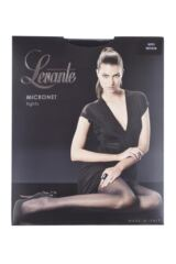 Ladies 1 Pair Levante Micronet Tights Packaging Image