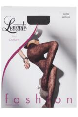 Ladies 1 Pair Levante Petronella Floral Embossed Tights Product Shot