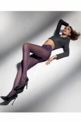 Ladies 1 Pair Levante Arianna Checkered Tights Leading Image