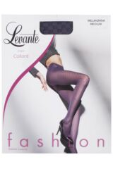 Ladies 1 Pair Levante Arianna Checkered Tights Product Shot