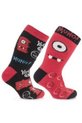 Kids 2 Pair Yo Gabba Gabba Socks In 4 Characters 75% OFF