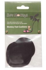 Ladies 1 Pair Pack Shoe Monkeys Foot Cushions Packaging Image
