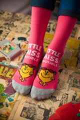 Ladies 3 Pair TM Little Miss Character Socks Leading Image