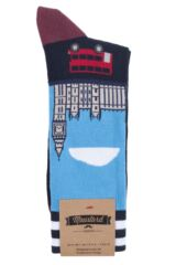 Mens 1 Pair Moustard London Cotton Socks Packaging Image