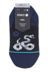 Mens 1 Pair Stance Crotalus Cotton Socks Packaging Image