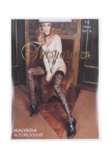 Ladies 1 Pair Trasparenze Malvasia Animal Print Sheer Hold Ups Packaging Image