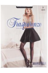 Ladies 1 Pair Trasparenze Mariposa Wave Fishnet Tights Product Shot
