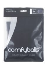 Mens 1 Pair Comfyballs Microfiber Longer Leg Boxer Shorts Packaging Image