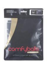 Mens 1 Pair Comfyballs Regular Sports Performance Boxer Shorts Packaging Image