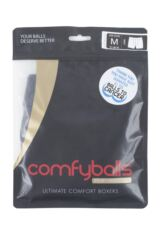 Mens 1 Pair Comfyballs Superlight Lightweight Sports Performance Boxer Shorts Packaging Image