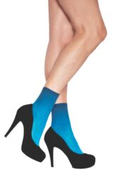 Ladies 1 Pair Jonathan Aston Nikki Dip Dyed Anklets 25% Off