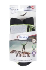Mens and Ladies 1 Pair Thorlos Outdoor Athlete Walking Socks Packaging Image