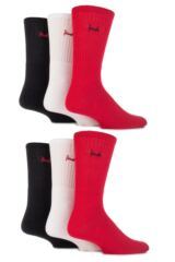 Mens 6 Pair Pringle Full Cushion Sports Socks